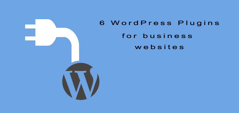 6 WordPress plugins for business websites